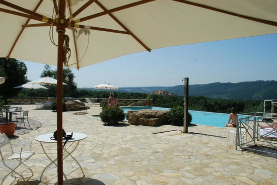 Inn Casa Country House : Nice shaded areas by pool.