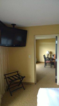 Park Vista - DoubleTree by Hilton Hotel - Gatlinburg: Bedroom TV