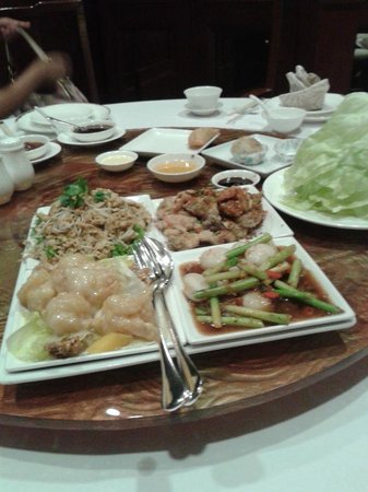 Man Ho Chinese Restaurant - at the JW Marriott Hotel Bangkok: entree