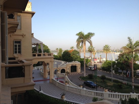 Pavillon Winter Luxor: Room with a view
