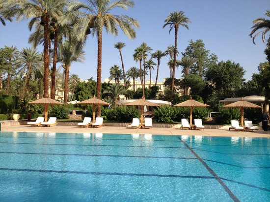 Pavillon Winter Luxor: Pool