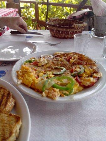 Apanemo: Omelette for breakfast :-) katharina