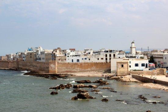 Murallas de Esauira: Vista de Essauoira