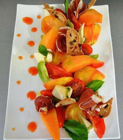 Le Gasquet: salade italienne