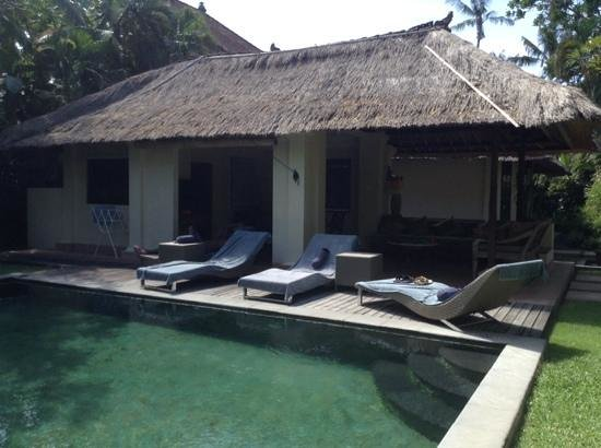 The Pavilions Bali: our lovely pool villa