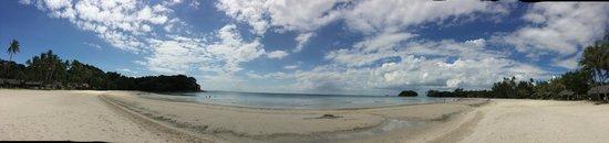 Nirwana Gardens - Mayang Sari Beach Resort : Beach view