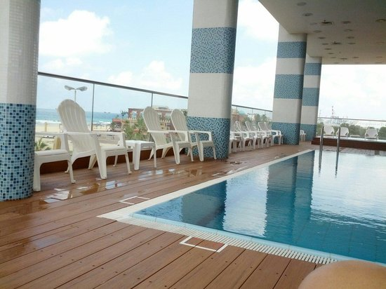 West Boutique Hotel Ashdod : The pool