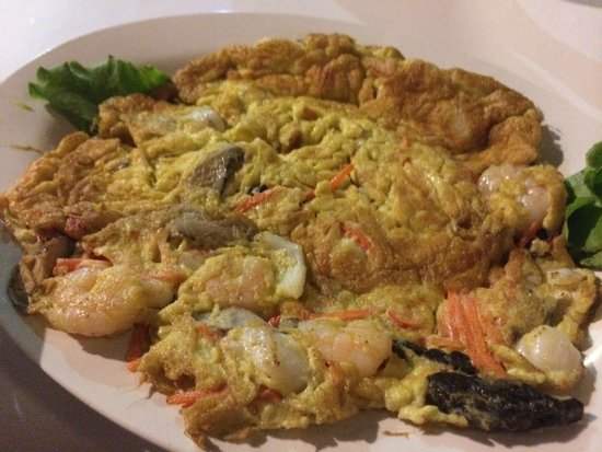 The Kelong Seafood Restaurant: Seafood egg