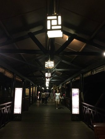 The Kelong Seafood Restaurant: The entrance