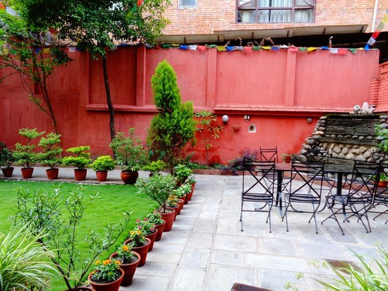 Hotel Horizon: Hotel garden