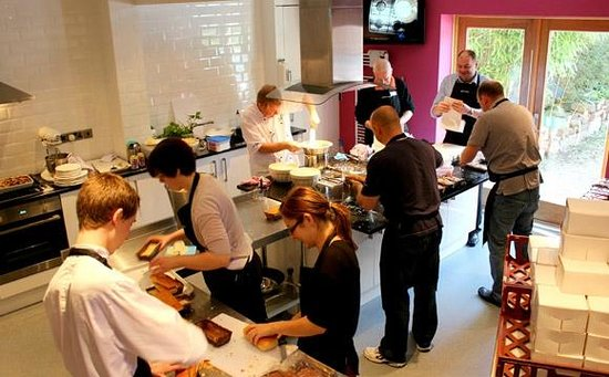 Corporate Away Day at Cheshire Cooks