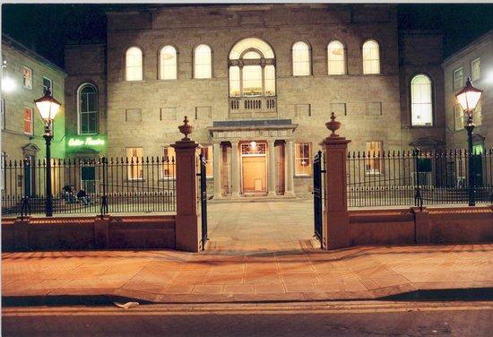 Lawrence Batley Theatre: LBT at night