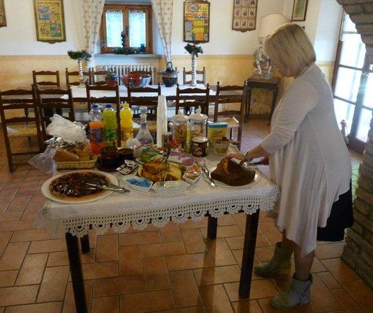 Casale Le Burgne: la colazione