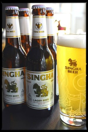 Suda Thai Cafe & Restaurant : Get 4 for 3 on Singha both bottled and draft >> world cup deal <<