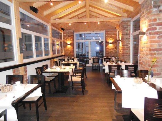 Hotel Scheelehof Stralsund: Wintergarten -  ein abgeteilter Bereich des Restaurants