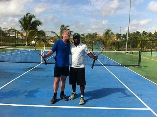 Majestic Colonial Punta Cana: Tennis
