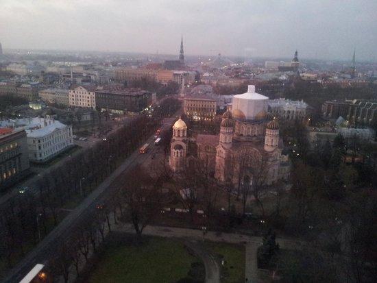 Radisson Blu Latvija Conference & Spa Hotel: Utsikt fra 20 etg.
