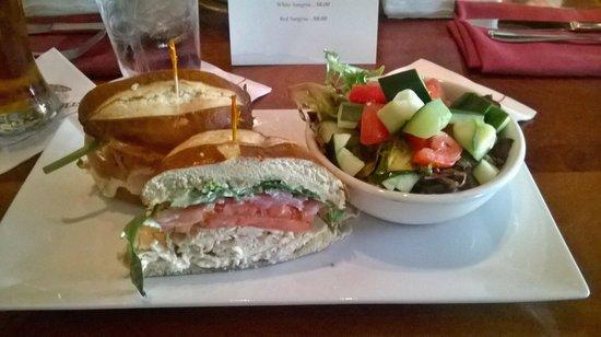 Old Ebbitt Grill: Turkey sandwich