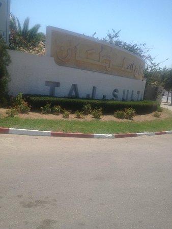 Golden Tulip Taj Sultan Resort : Front of the hotel