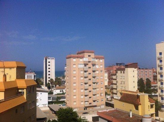 Biarritz Hotel: Vistas quinto piso
