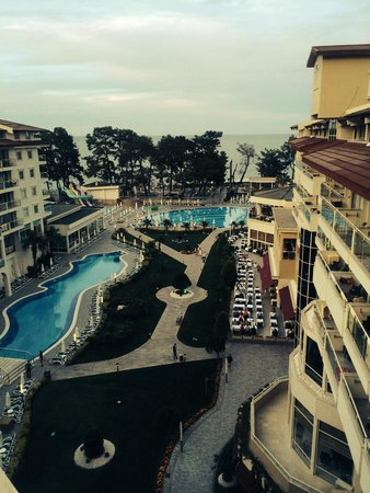 Barut Kemer : view from room