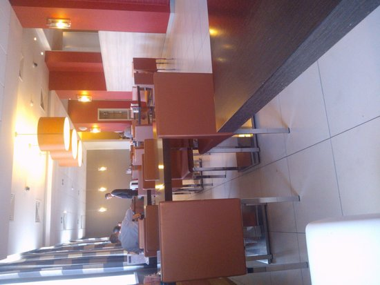 Ibis Sibir Omsk Hotel: ресторан