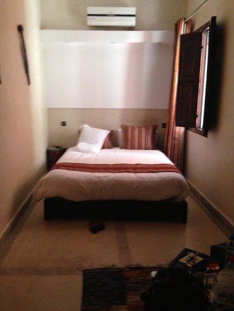 Riad Maud : Le lit bien confortable