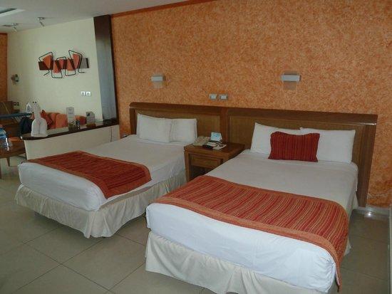 Grand Sirenis Riviera Maya Resort & Spa : Spacious room