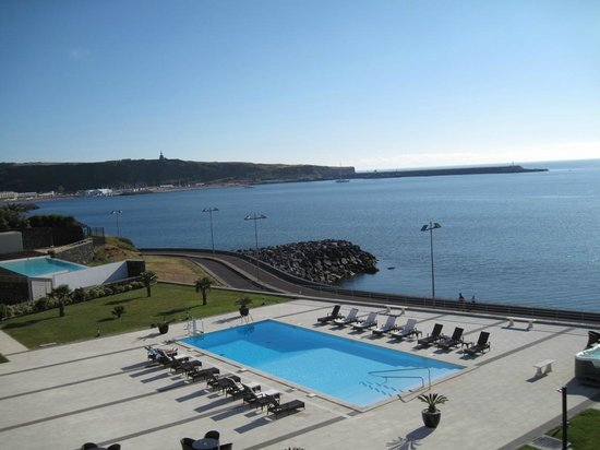 Aparthotel Atlântida Mar: Landscape fom the room