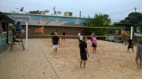 Hammer's Good Time Emporium : Beach volleyball inland
