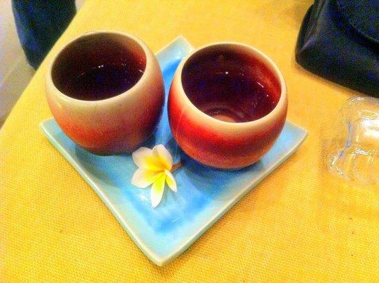 Sea Sand Sun Resort And Villas: welcome drink