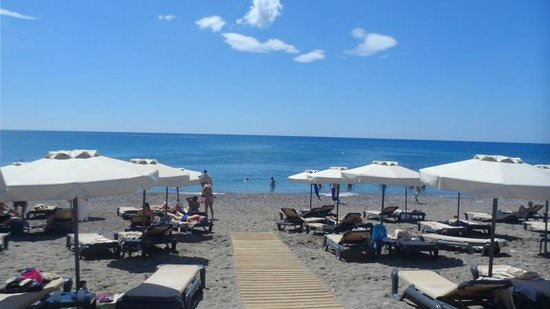 Princess Andriana Resort & Spa: the beach