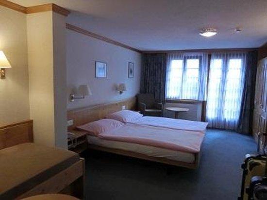 Hotel Restaurant Derby : 部屋