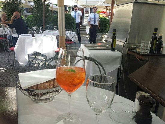 Terrasse: Cocktail time