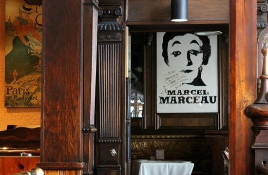 Bistro Francais: Marcel Marceau ;-)