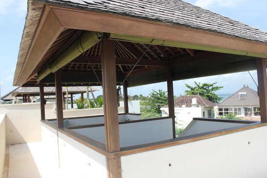 Pantai Indah Villas Bali: Viewing Gazebo