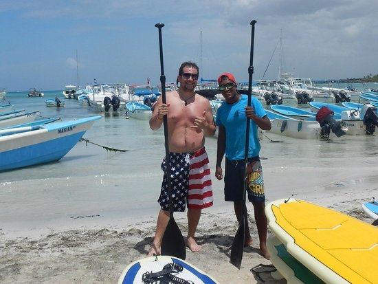 Bayahibe SUP (Stand Up Paddle Boarding): Baynody and Me