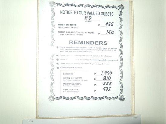 Winston Motel: price