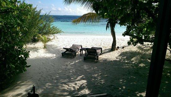 Komandoo Maldives Island Resort: View from villa