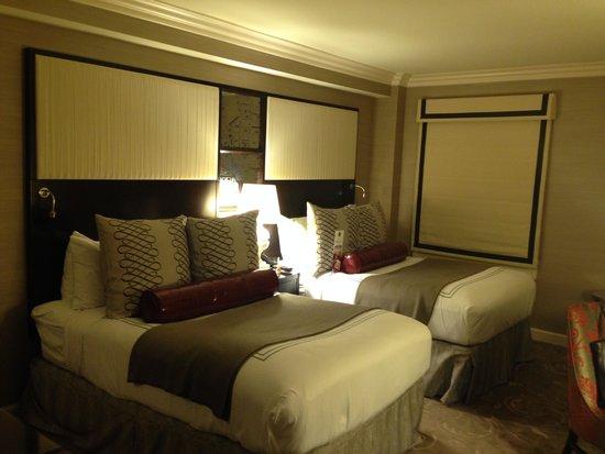 Hamilton Hotel Washington DC : Nice bedding