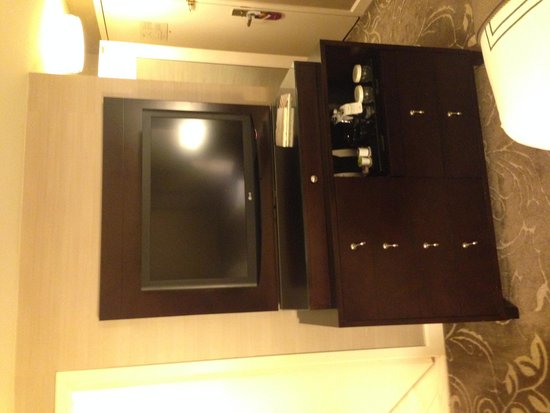 Hamilton Crowne Plaza Hotel: The room have everything you might need