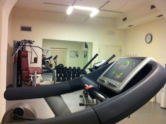 Albergo delle Notarie: OK treningsrom, en multimaskin og lette vekter.