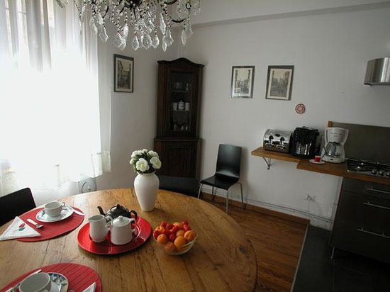 B&B Ca' Isidoro: Breakfast room
