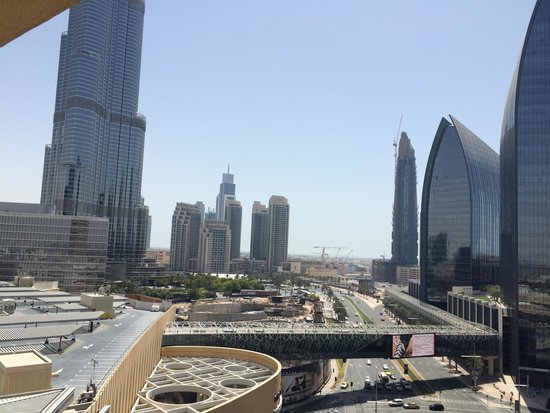 Address Dubai Mall : View From Room