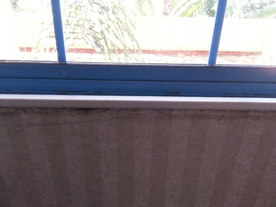 Embassy Suites by Hilton Arcadia Pasadena Area: Mold under window