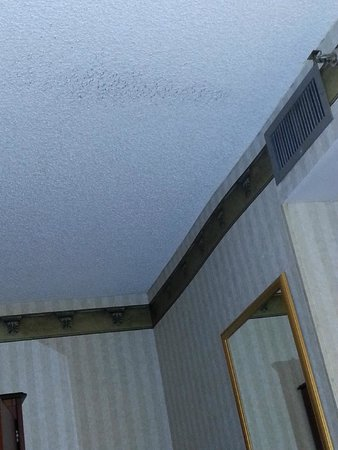 Embassy Suites by Hilton Arcadia Pasadena Area: Dirty ceiling because of dirty air conditioner