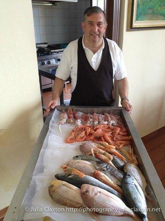 Trattoria Scalo Grande : Choose your fish!