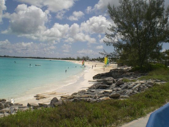 Club Med Columbus Isle : vue de la plage