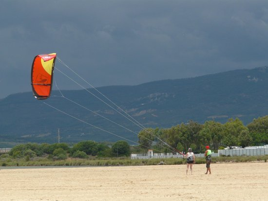Escuela de kitesurf Gisela Pulido Pro Center: Die ersten Schritte...