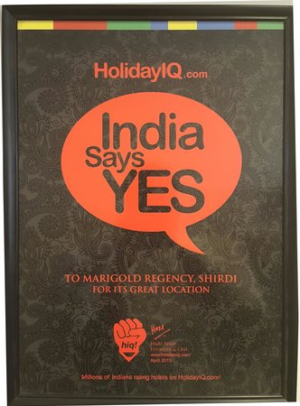 Marigold Regency: Holiday IQ Award